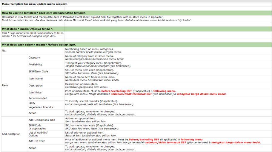 Excel Menu Template from grabmerchanthelp.zendesk.com